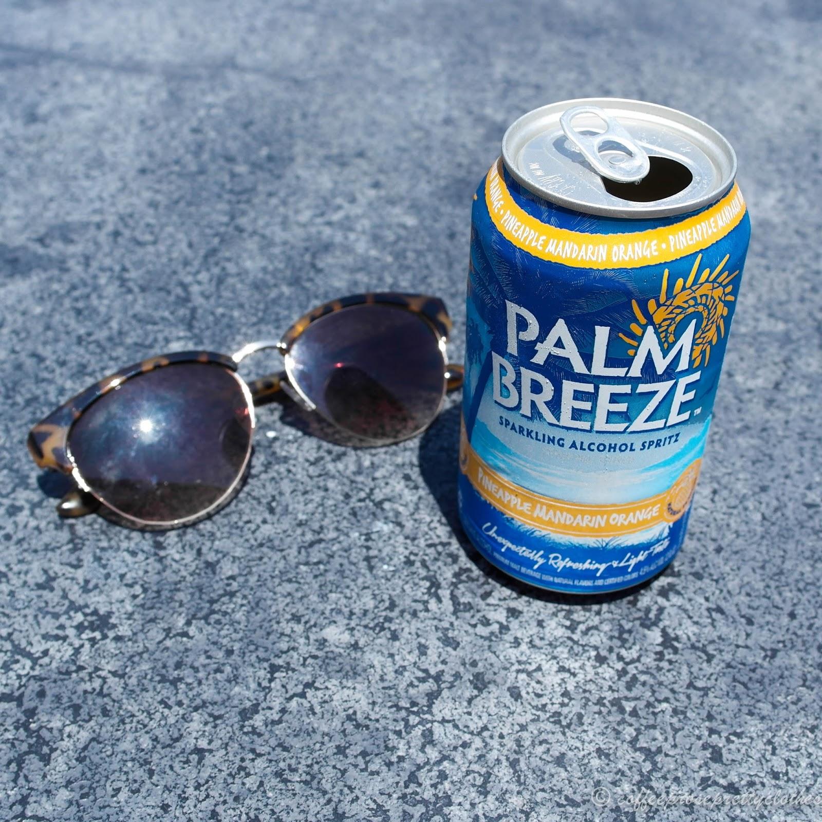 Palm Breeze flatlay