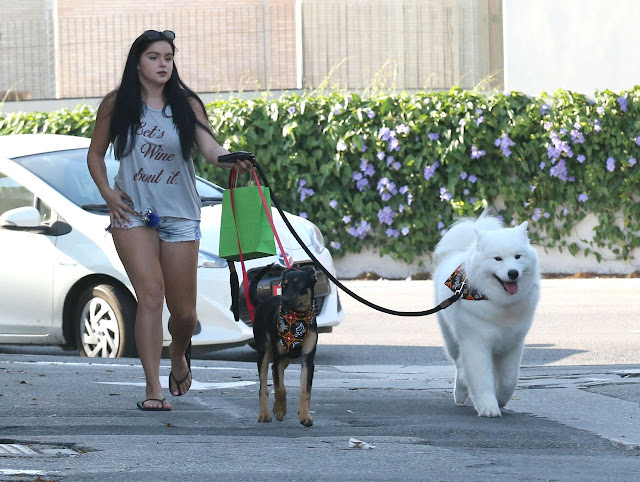 Ariel Winter Leggy in Shorts – West Hollywood