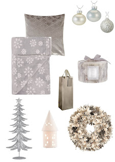 "<img alt=""See more ideas for Christmas in blue and grey"">"