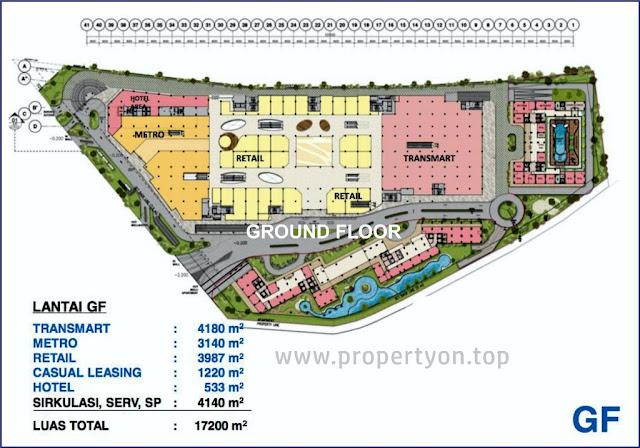 Floor Plan Trans Park