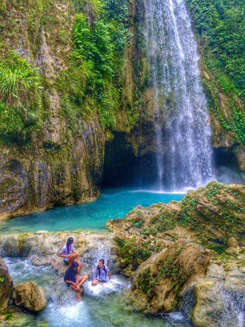 Inambakan falls Ginatilan Cebu