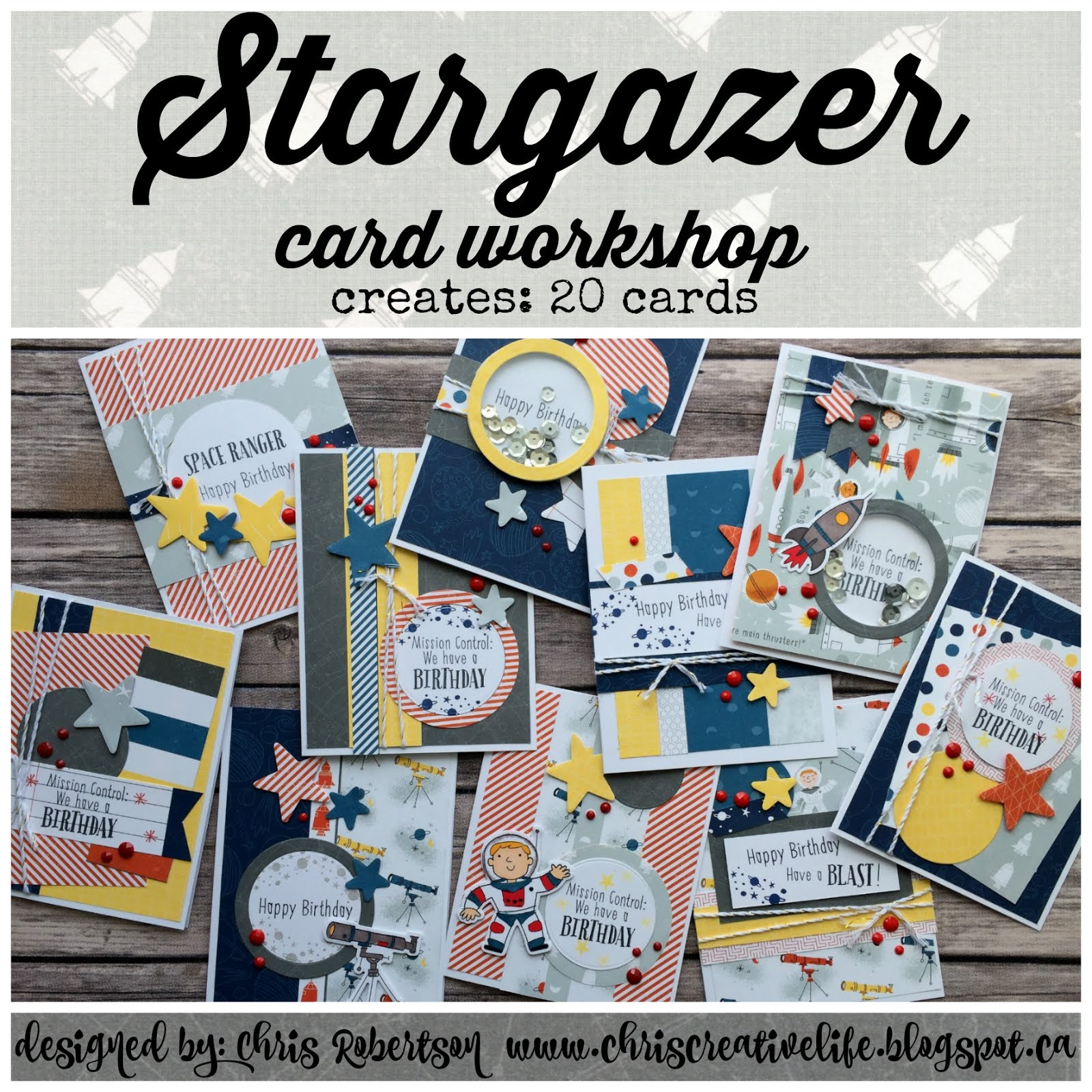 Stargazer Cardmaking Workshop