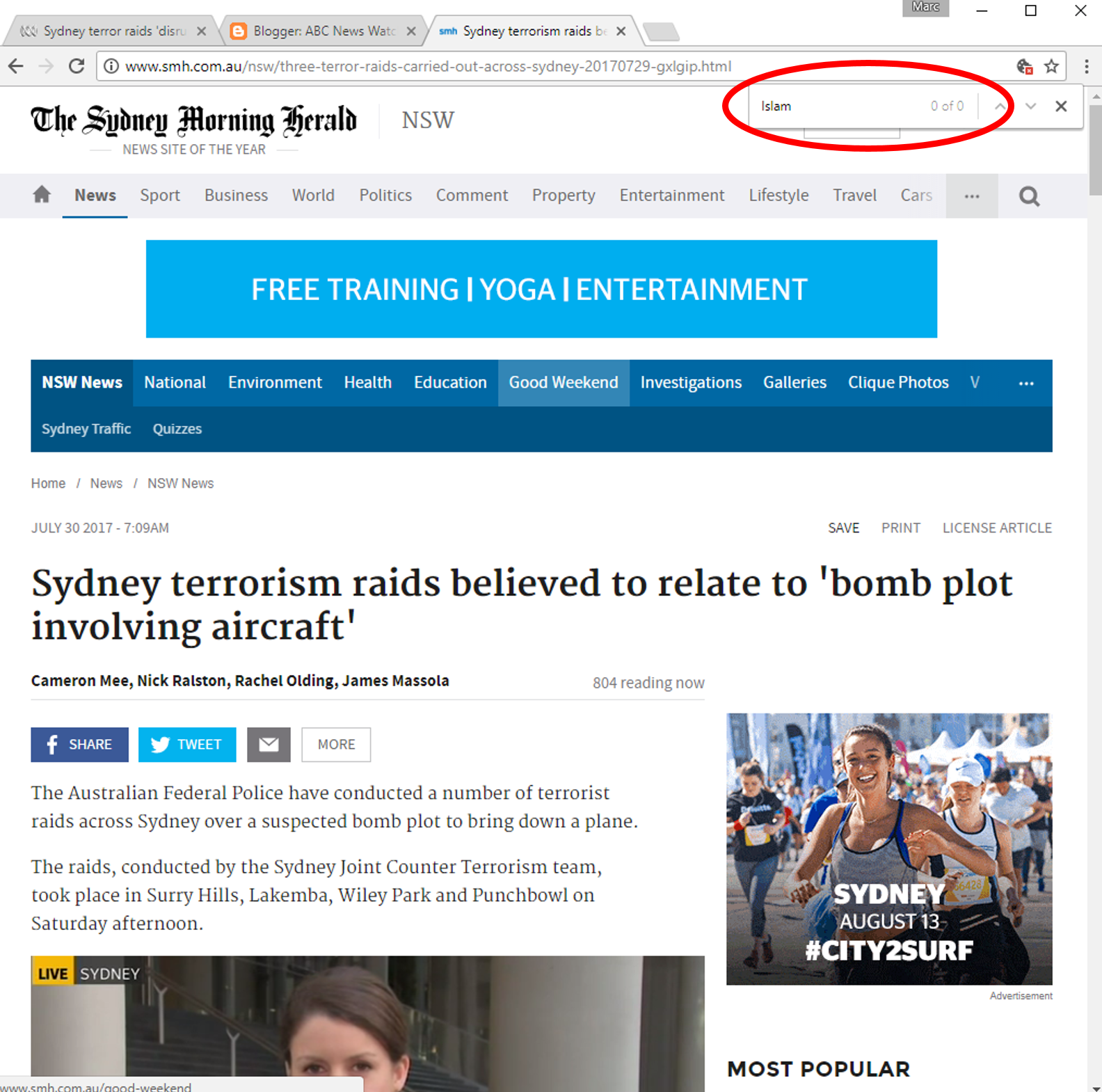 ABC News Watch: ABC News: Australia's Orwellian network
