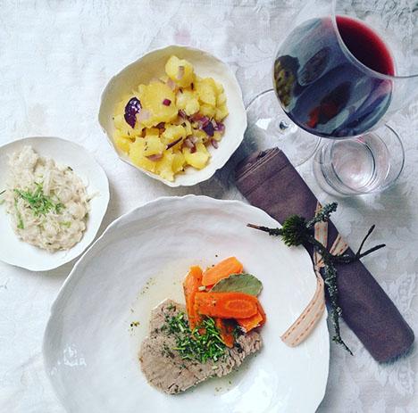 Sonntagsfestessen Tafelspitz_My Kitchen Logbook by Marlene Grünzweil