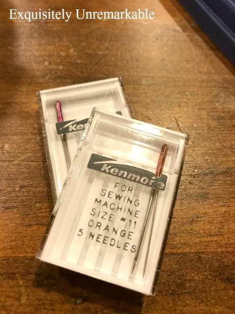 Proper Sewing Machine Needles