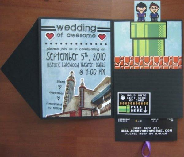 Nerdy Wedding Invites: Oz Angeles: Some Of Funny And Creative Wedding Invitation