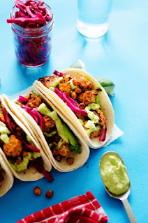 vegetarian and vegan tacos