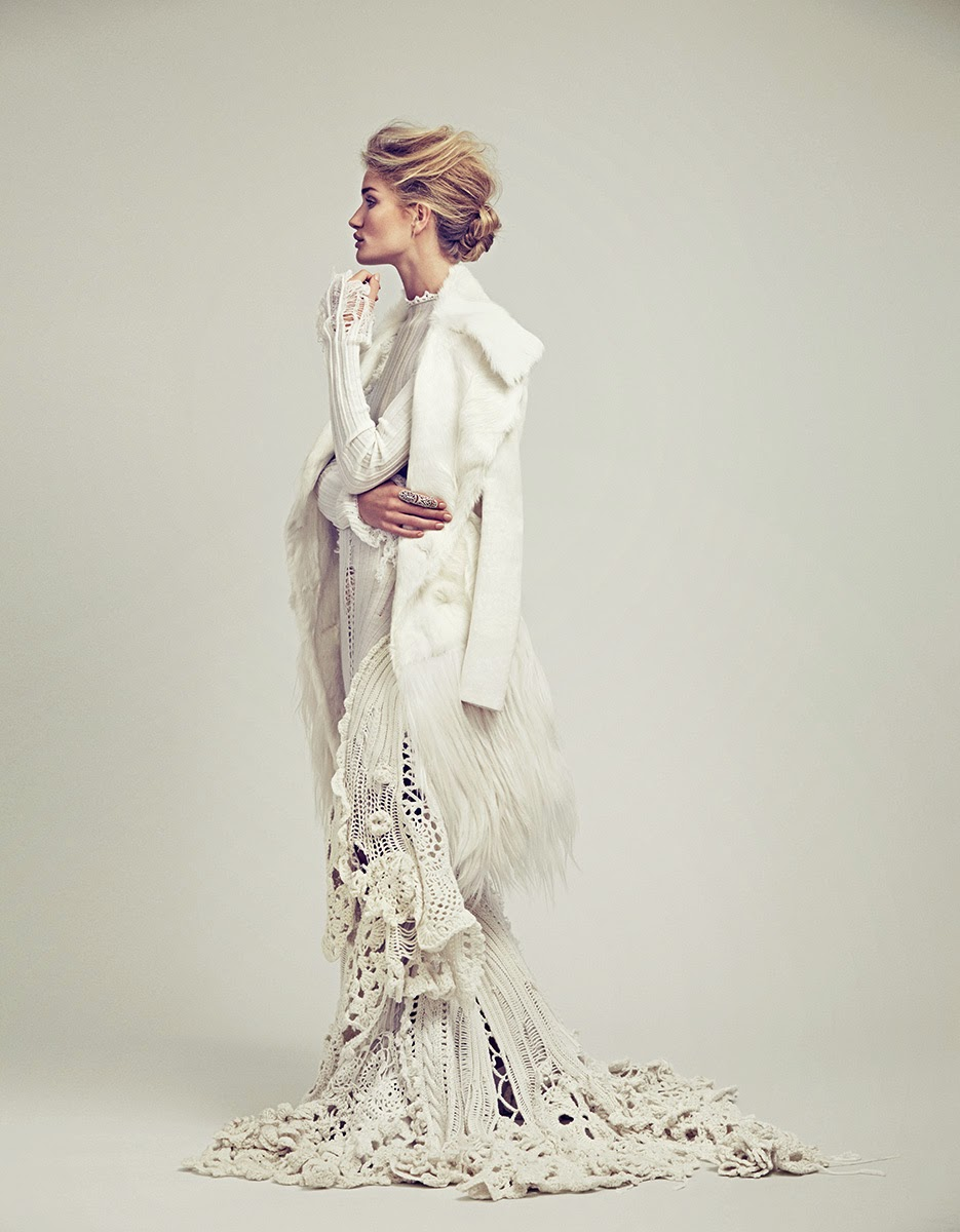 Editorial Fashion Rosie Huntington Whiteley For Vogue Mexico November 2014 Cool Chic Style