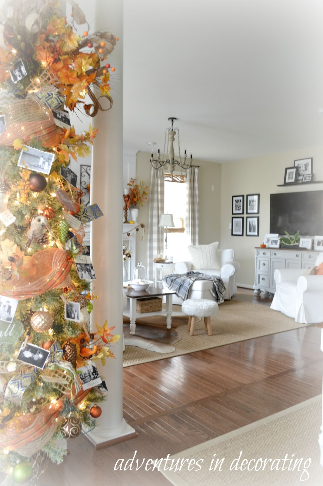 Adventures In Decorating Our 2015 Fall Kitchen: Adventures In Decorating: Our Fall Great Room