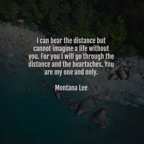 Long distance relationship quotes that'll touch your heart