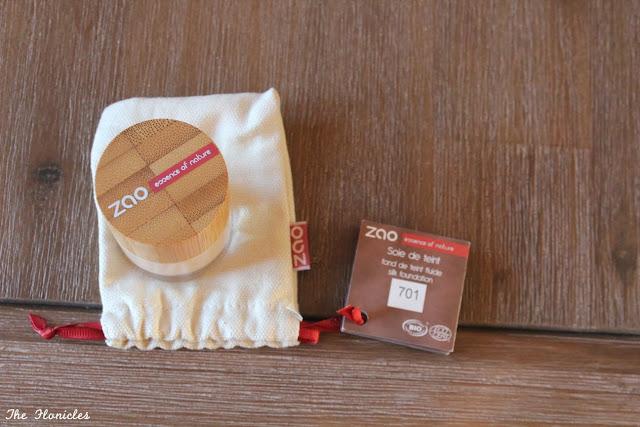 Zao soie de teint (fond de teint bio)