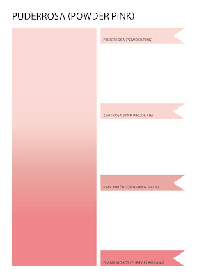 Stampin' Up! rosa Mädchen Kulmbach: Farbvergleich der InColor 2017-19 sowie aller bisherigen Stampin' Up! Farben als Download