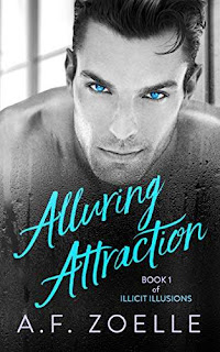 Alluring Attraction - a MM contemporary gay romance kindle book promotion A.F. Zoelle
