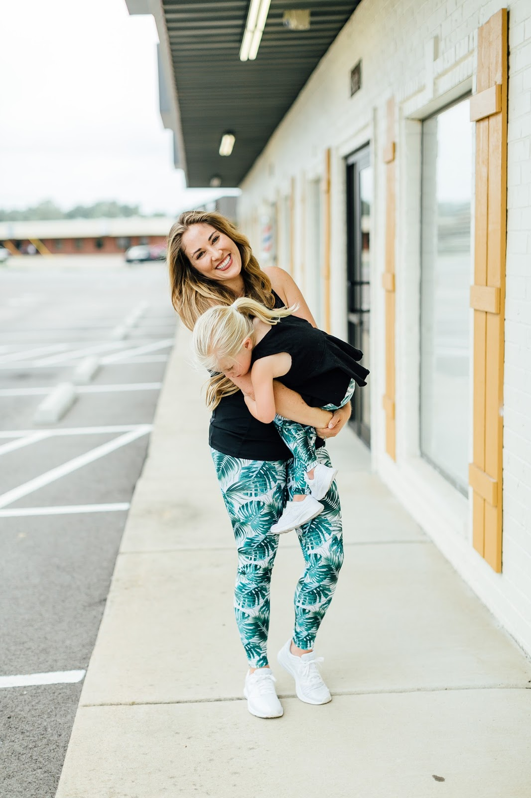Mom and Toddler 10 Minute Workout by Memphis mom blogger Walking in Memphis in High Heels