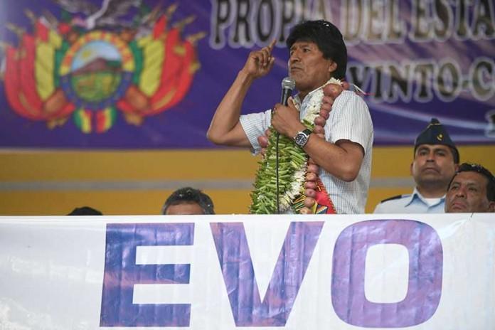 Morales va a su quinta candidatura, la tercera en calidad de mandatario en ejercicio / ABI