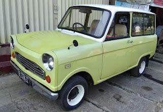 Dijual mobil antik mazda B600 akan Mazda kotak sabun...