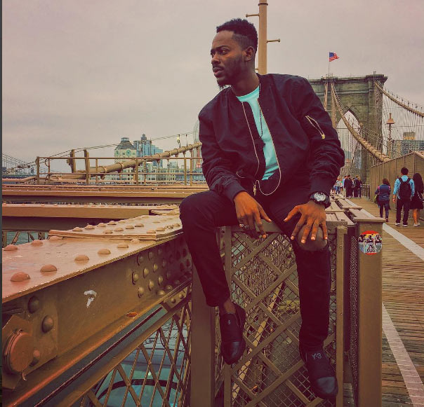 Adekunle Gold looking dapper in the USA