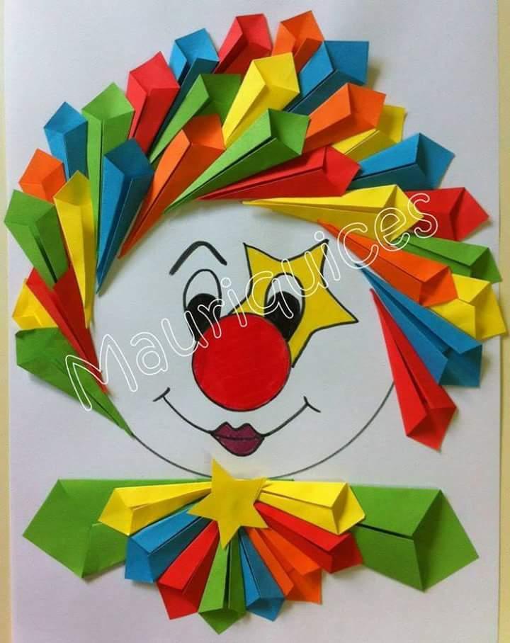 10 divertidas manualidades con papel On papel colores manualidades