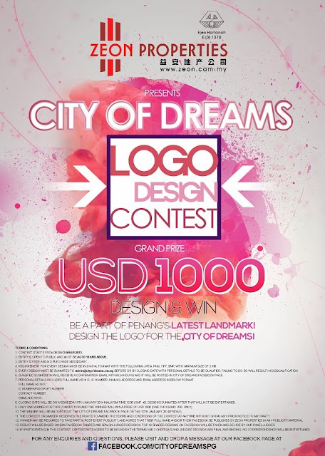 Join their Logo Design Contest as well