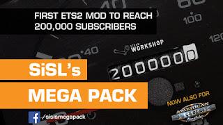 ats mods, recommendedmodsats, ats SISL's Mega Pack, sisl's mega pack, sisl's mods, american truck simulator mods, ats realistic mods, ats cabin accessories, ats star wars dlc, ats sisl's megapack v2.6 screenshots