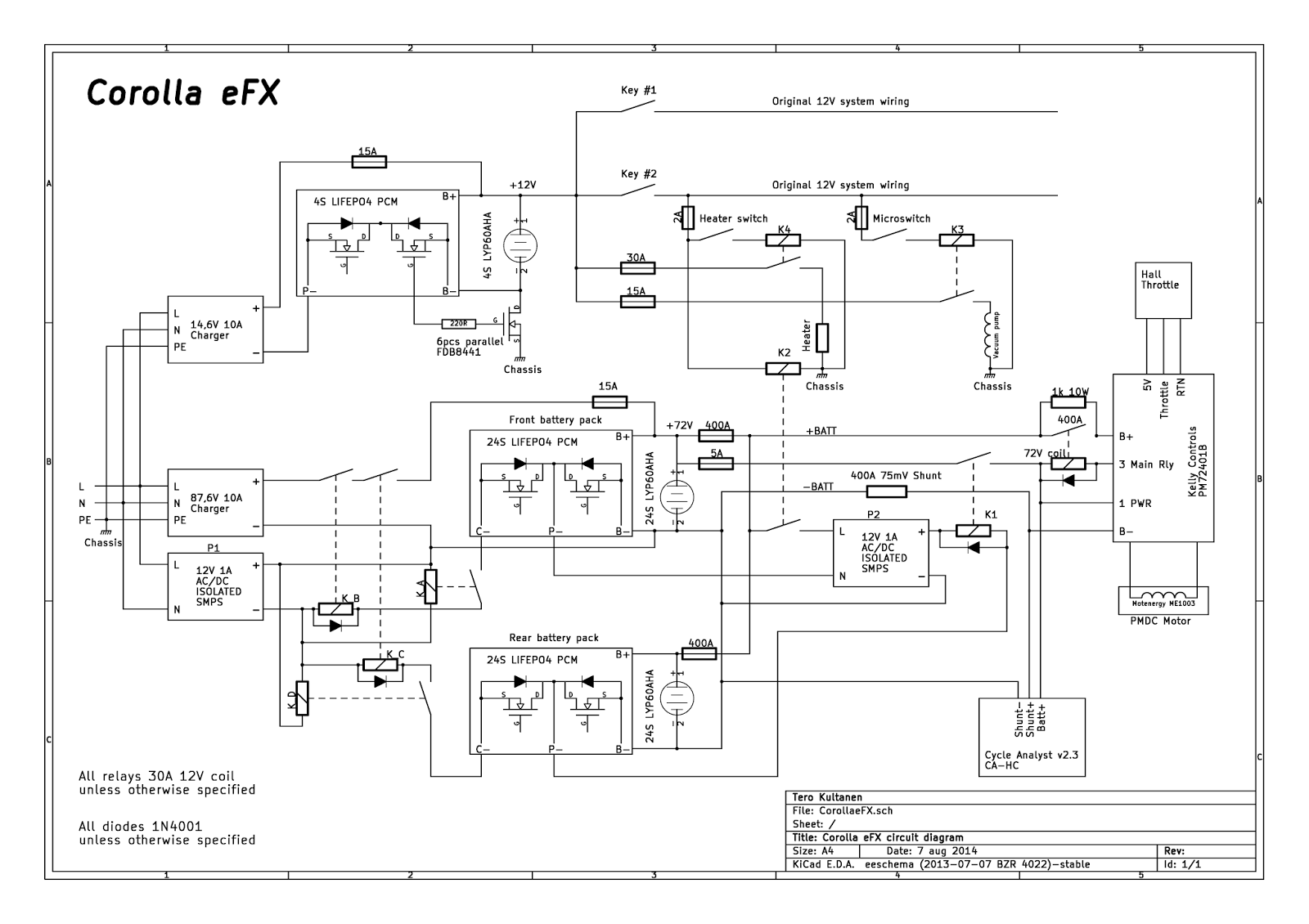 corolla efx 87 circuit diagram update 8 8 2014 adding a second 76 8v 60ah [ 1600 x 1130 Pixel ]