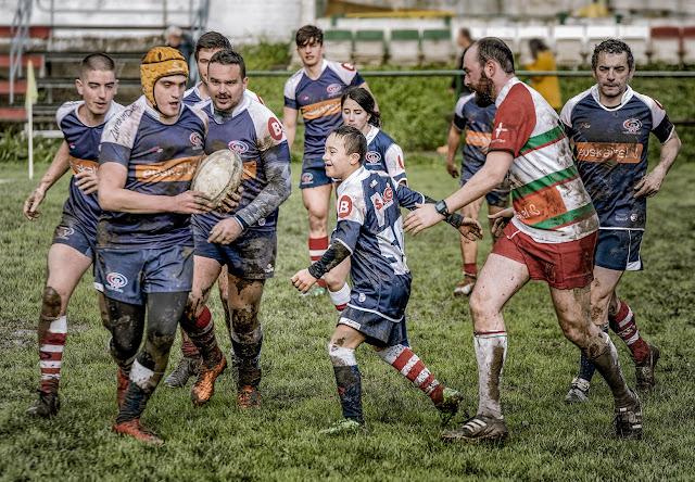 JOSÉ MIGUEL ROMERO BARCO, ESPAÑA, a la obra Rugby para todos -3