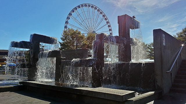 Seattle waterfront...