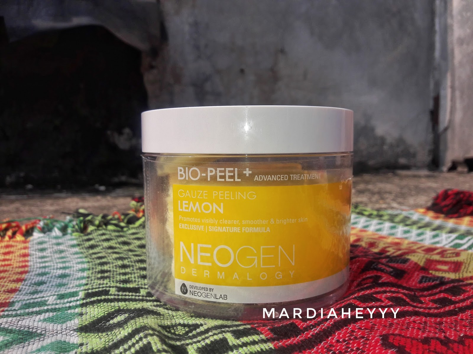 Neogen Bio Peel Lemon Review