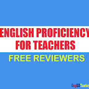New Links! REVIEWER for Test of English Proficiency for Teachers (TEPT) - (Direct Link, No Adfly for Easy Access)