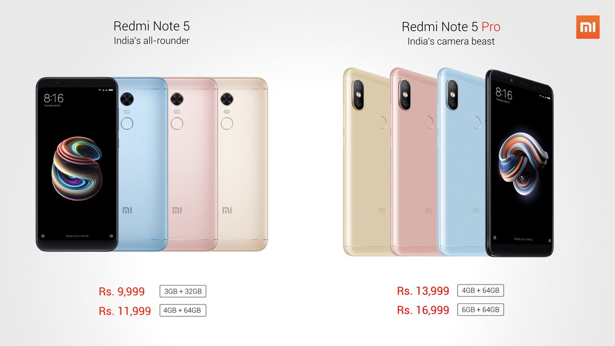 Buy Redmi Note 5 Note 5 Pro Online On Flipkart Price