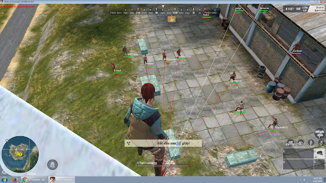 PVRules Hack 9.9 - Rules of Survival INTERNATIONAL Cheat Works on Server Vinagame, China Server - UPDATED JUNE 20 2018