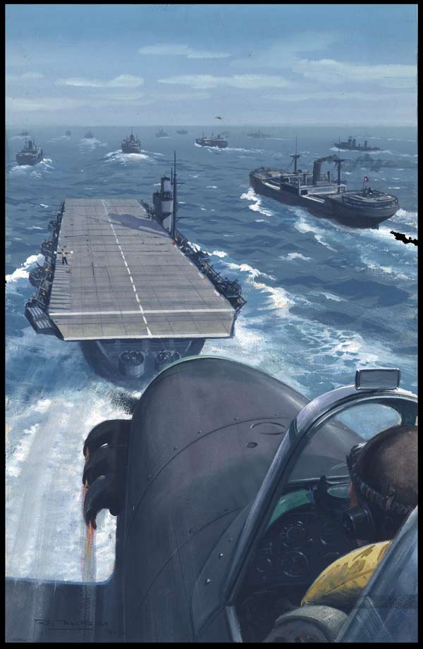 british warplanes protect atlantic convoys ww2