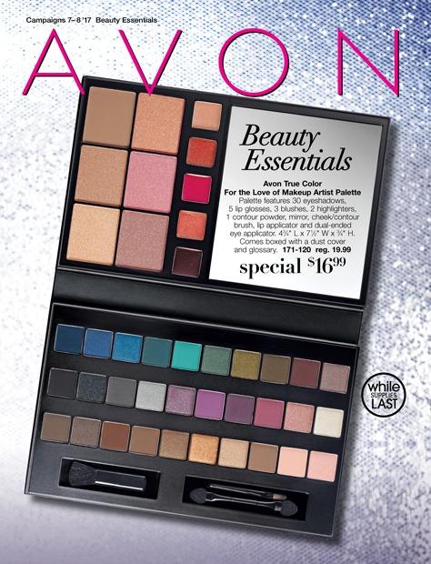 Avon Beauty Essentials Campaign 8 2017 Catalog Online MoxieMavenBeauty.com
