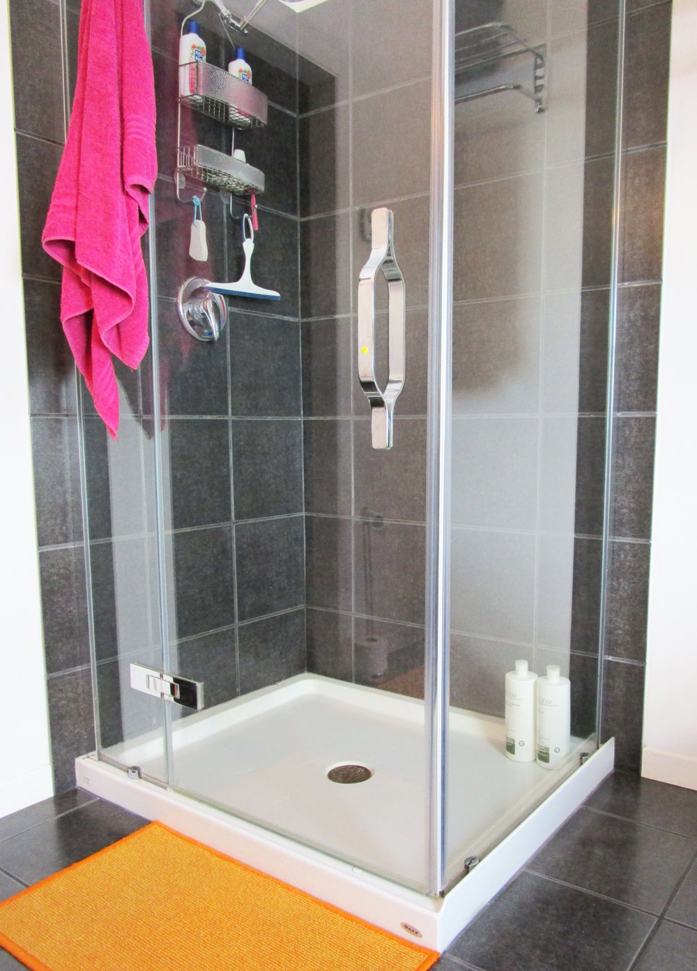 of products easy cleaning full doors way door to glass how shower size bathroom best clean