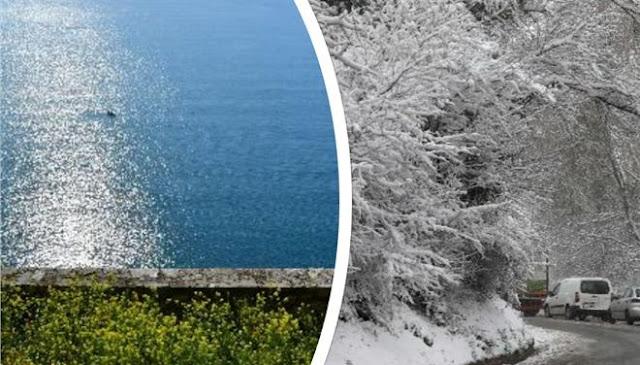 Αποτέλεσμα εικόνας για Δύο διαφορετικά καιρικά φαινόμενα θα εκδηλωθούν σήμερα στην Ελλάδα