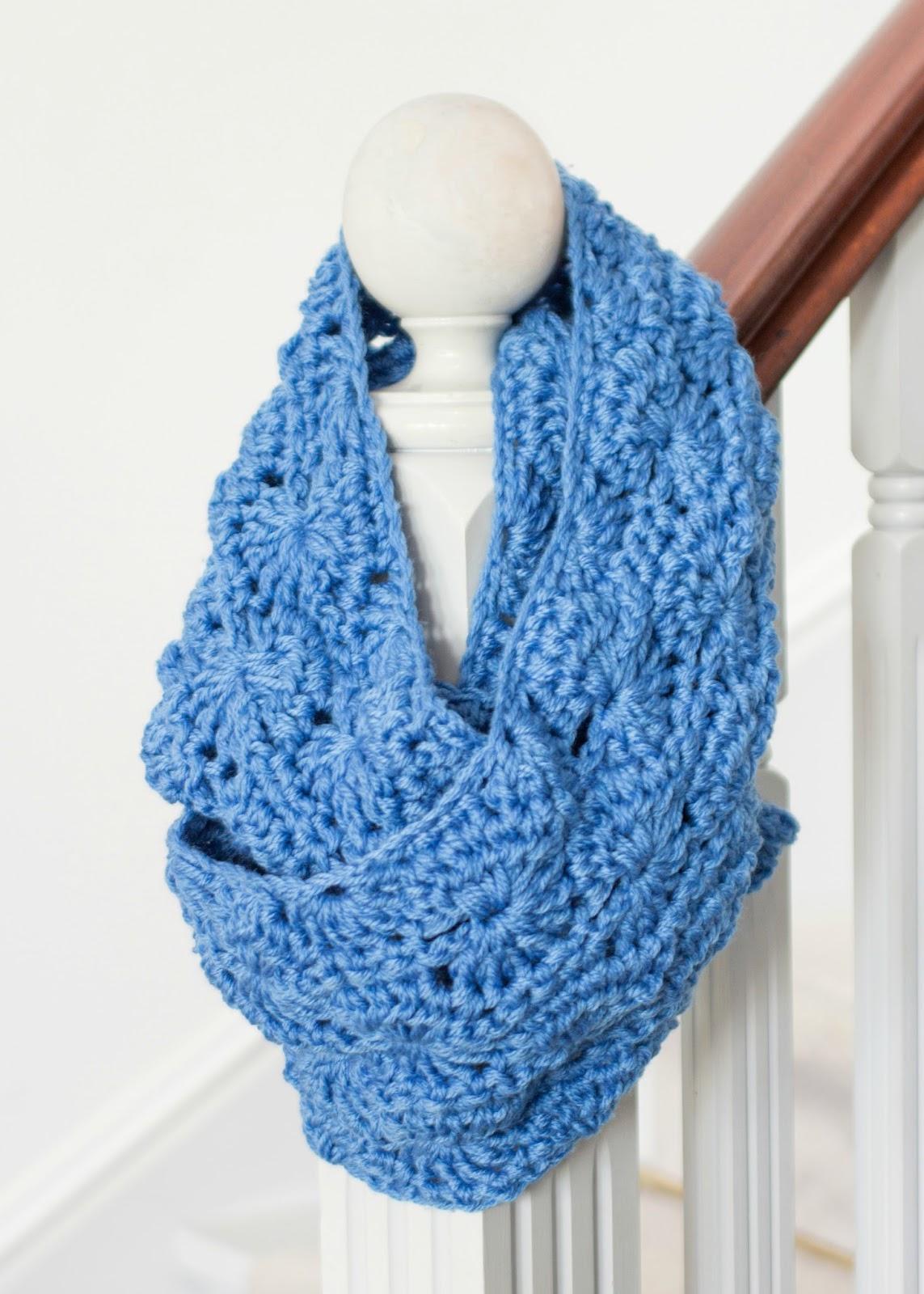 Crochet Infinity Scarf Chunky Pattern : Hopeful Honey Craft, Crochet, Create: Chunky Infinity ...
