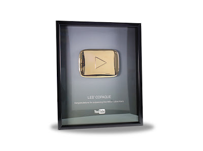 Gold Play Button