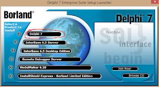 Cara Install Delphi 7 di Windows 8.1