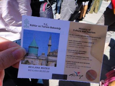 Mevlana Musezi Entrance Ticket