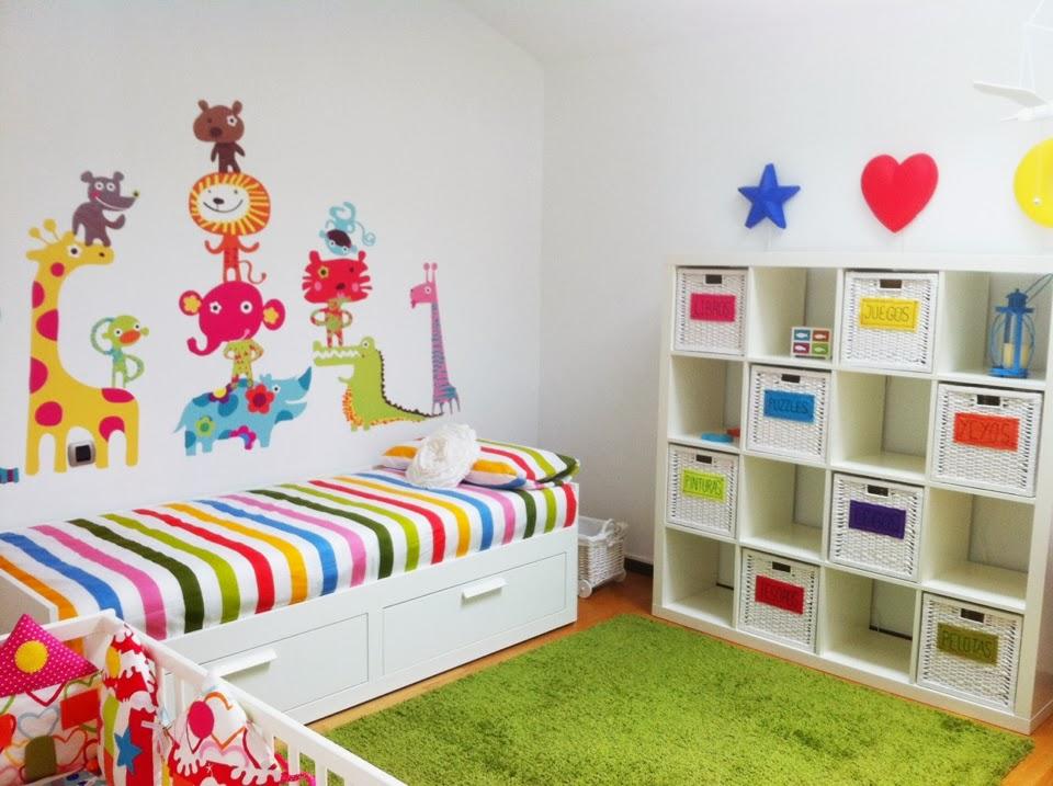 Los cucos beb ideas para decorar la habitaci n de los - Decorar paredes ninos ...