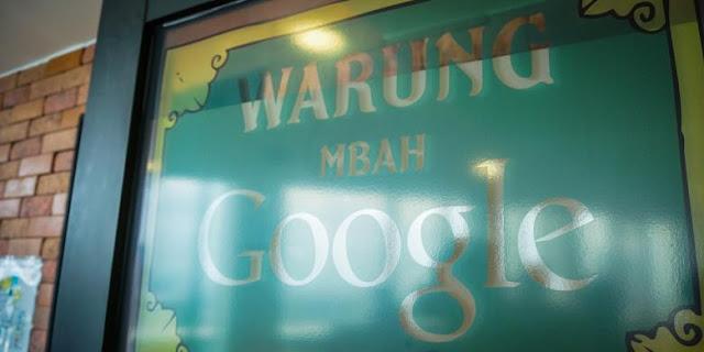 """Pintu masuk menuju """"Warung Mbah Google"""""""