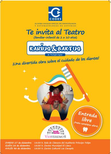 Asturias con niños: Carius y Baktus: teatro gratis en Oviedo, Gijón y Avilés