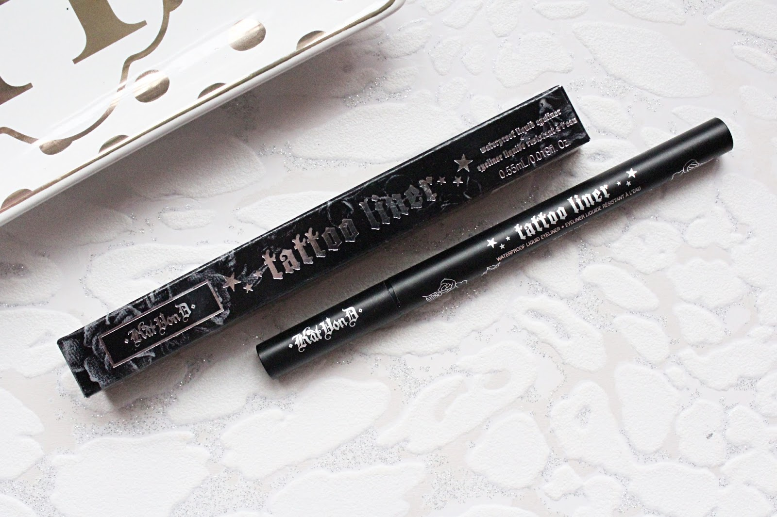 Kat Von D Tattoo Liner Review | Hannah Heartss