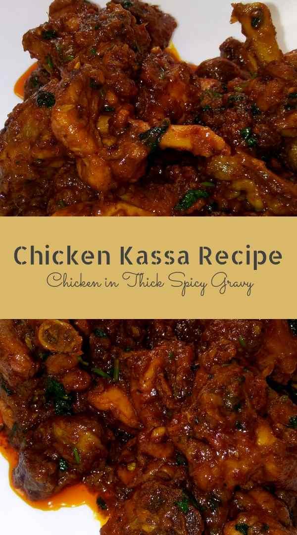Chicken kassa recipe