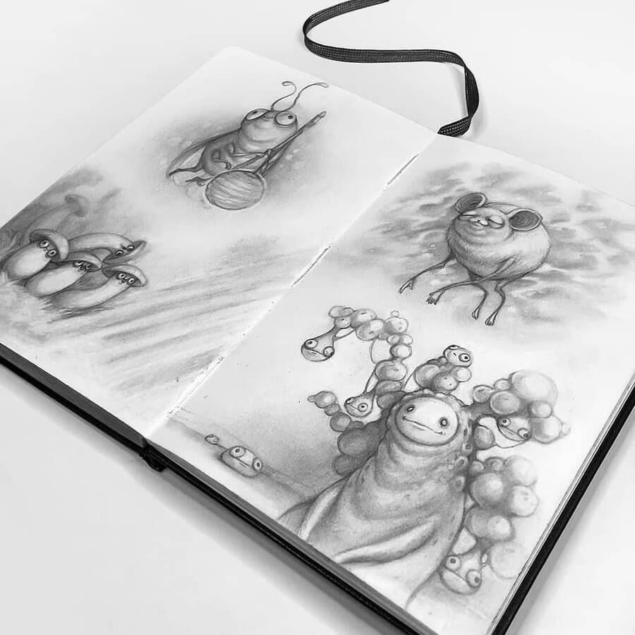 04-Drawings-of-Creatures-Stella-Bialek-www-designstack-co