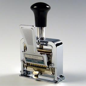 Cara Menggunakan Numbering Machine Mesin Penomor