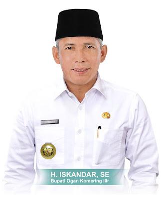 H. Iskandar Boyong Dua Penghargaan dalam Sepekan