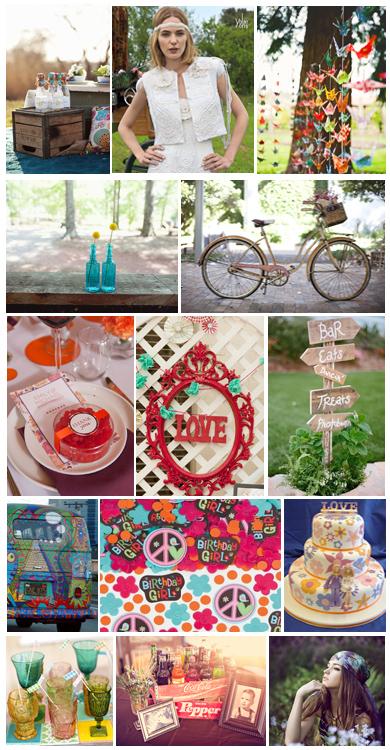 hippie wedding dresses wedding theme hippie chic. Black Bedroom Furniture Sets. Home Design Ideas