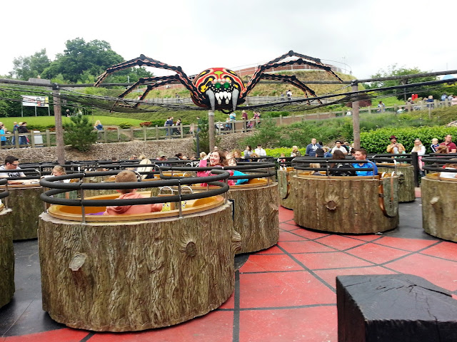Spinning Spider, Legoland Windsor