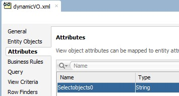 Now remove this dummy viewObject and create new ViewObject with same name using query